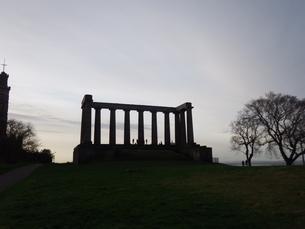 スコットランド カールトンヒルの写真素材 [FYI03454756]
