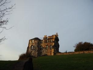 スコットランド 古城の写真素材 [FYI03454758]
