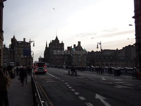 スコットランド 街並みの写真素材 [FYI03454759]