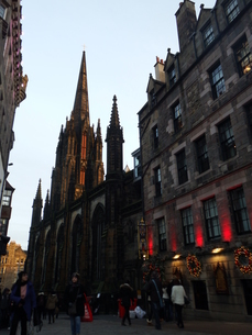 スコットランド 街並みの写真素材 [FYI03454762]