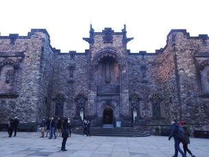 スコットランド エディンバラ城の写真素材 [FYI03454769]