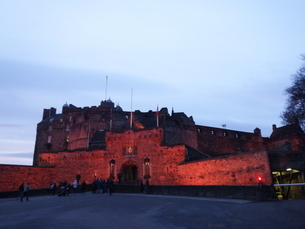 スコットランド エディンバラ城の写真素材 [FYI03454771]