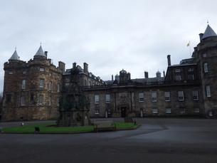 スコットランド 古城の写真素材 [FYI03454782]