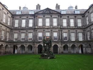スコットランド 古城の写真素材 [FYI03454785]
