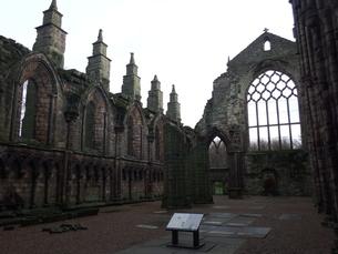 スコットランド 古城の写真素材 [FYI03454786]
