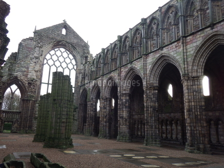 スコットランド 古城の写真素材 [FYI03454788]