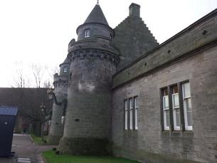 スコットランド 古城の写真素材 [FYI03454790]