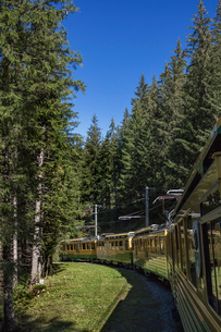 スイス、ベルナーオーバーラント鉄道の写真素材 [FYI03454888]