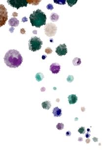 ウイルス 増殖 イメージ イラストのイラスト素材 [FYI03454950]