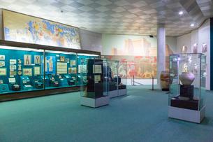 ウズベキスタン国立歴史博物館の展示風景の写真素材 [FYI03455379]