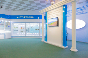 ウズベキスタン国立歴史博物館の展示風景の写真素材 [FYI03455383]