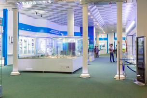 ウズベキスタン国立歴史博物館の展示風景の写真素材 [FYI03455384]