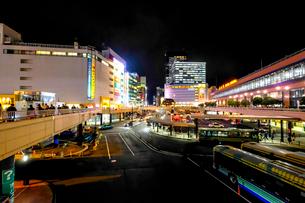 仙台駅と街並みの写真素材 [FYI03455613]