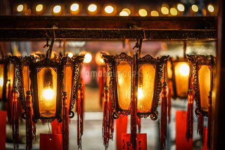 香港・文武廟の写真素材 [FYI03456661]