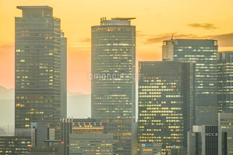 名古屋テレビ塔からの夕景の写真素材 [FYI03456697]