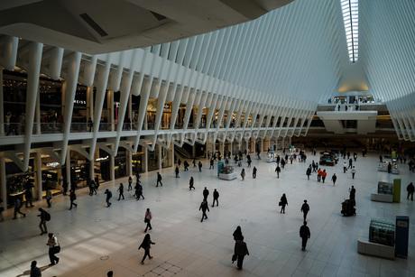 ウェストフィールド ワールドトレードセンター(Westfield World Trade Center)の写真素材 [FYI03456720]