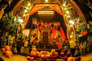 香港・文武廟の写真素材 [FYI03456741]