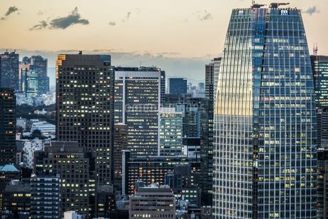 シーサイドトップ(世界貿易センタービルの展望台)からの風景の写真素材 [FYI03456787]