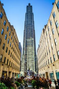 ロックフェラーセンターのイメージ(ニューヨーク)の写真素材 [FYI03456791]