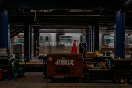 ニューヨークの地下鉄のイメージの写真素材 [FYI03456792]