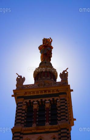 ノートルダム・ドゥ・ラ・ガルド寺院の写真素材 [FYI03457019]