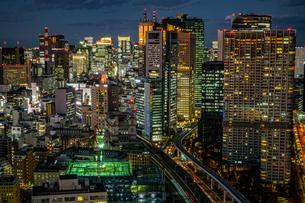シーサイドトップ(世界貿易センタービルの展望台)からの風景の写真素材 [FYI03457059]
