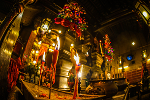 香港・文武廟の写真素材 [FYI03457088]