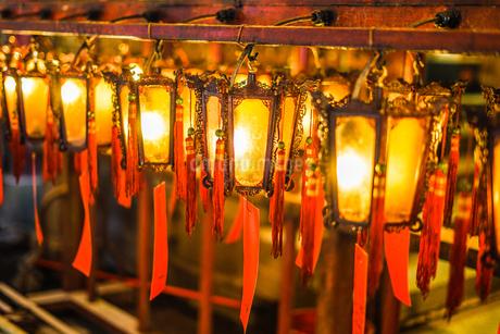 香港・文武廟の写真素材 [FYI03457096]