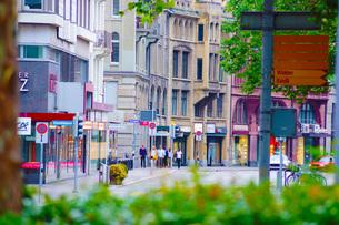 スイス・チューリッヒの街並みの写真素材 [FYI03457127]