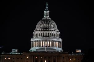 アメリカ合衆国議会議事堂(United States Capitol)の写真素材 [FYI03457131]