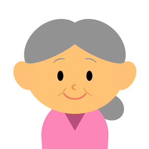 おばあさんのイラスト素材 [FYI03457653]