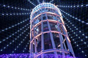 江の島ライトアップの写真素材 [FYI03457744]
