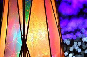 江の島ライトアップの写真素材 [FYI03457751]