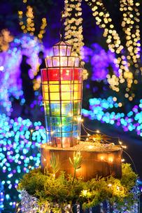 江の島ライトアップの写真素材 [FYI03457764]