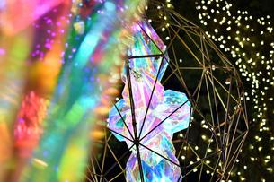江の島ライトアップの写真素材 [FYI03457774]