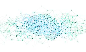 人工知能とネットワークのイラスト素材 [FYI03457990]