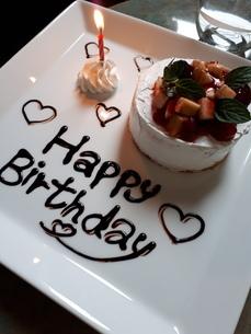 お誕生日ケーキの写真素材 [FYI03458793]