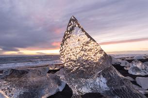 アイスランドのジュエリーアイスの写真素材 [FYI03458889]