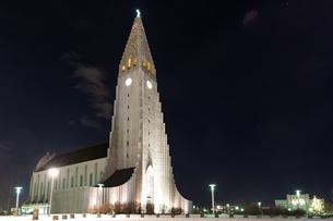 ハットグリムス教会の写真素材 [FYI03458922]