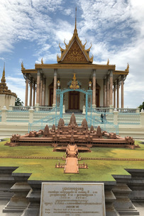 カンボジア/プノンペン シルバーパゴダの写真素材 [FYI03459019]