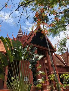 カンボジア/プノンペン 国立博物館の写真素材 [FYI03459020]