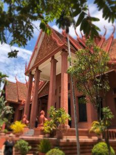 カンボジア/プノンペン 国立博物館の写真素材 [FYI03459021]