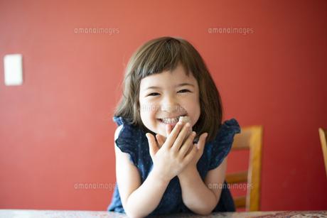 笑っている女の子の写真素材 [FYI03459263]