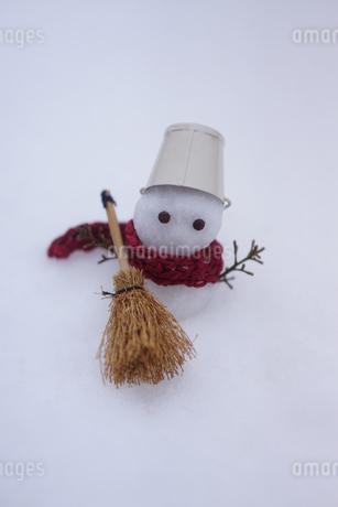 雪だるまの写真素材 [FYI03459346]