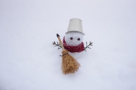 雪だるまの写真素材 [FYI03459349]