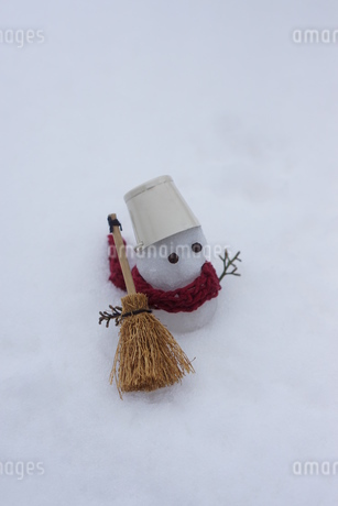 雪だるまの写真素材 [FYI03459350]