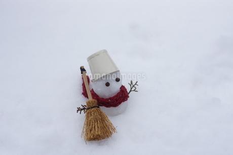 雪だるまの写真素材 [FYI03459351]