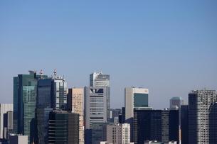 汐留の高層ビル群の写真素材 [FYI03459665]