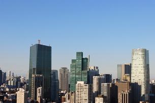 六本木1丁目の高層ビル群の写真素材 [FYI03459680]