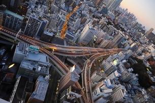 首都高一橋ジャンクションの写真素材 [FYI03459716]
